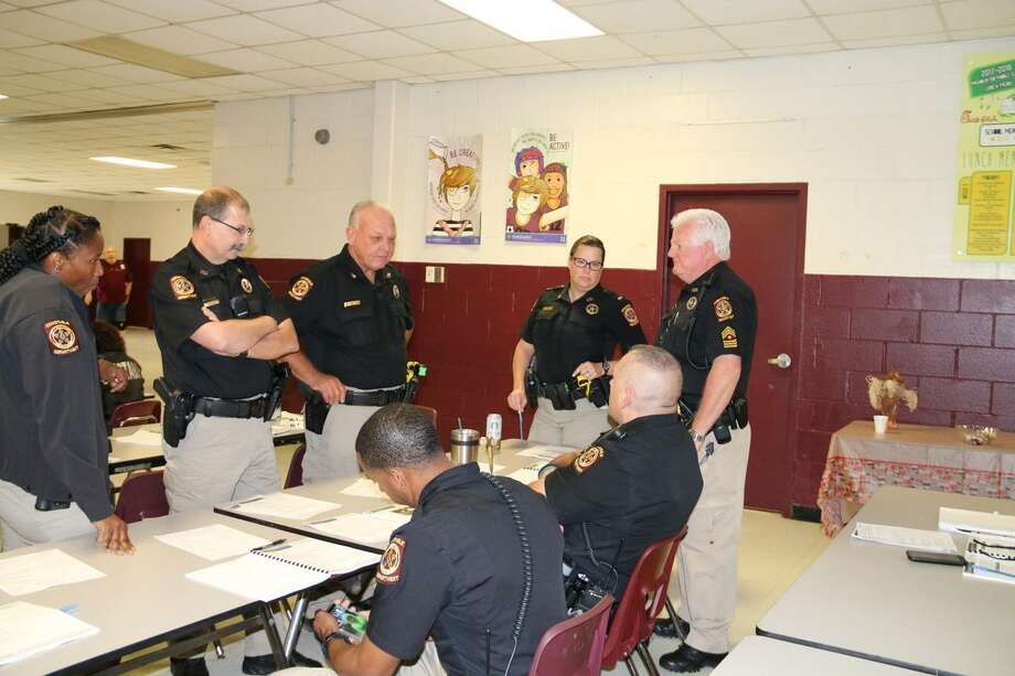 Magnolia ISD was selected to pilot a safety and security training specifically designed for school transportation departments. Photo: Courtesy Photo