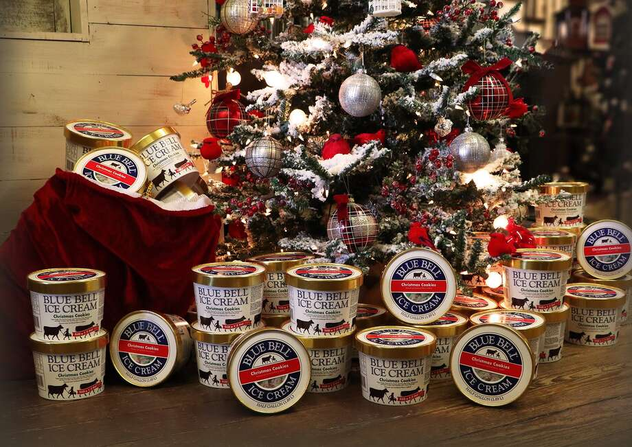 "Blue Bell announced it's bringing back its ""Christmas Cookie"" ice cream.  >>> See our ranking of the best and worst flavors of Blue Bell Ice Cream. Photo: Blue Bell Ice Cream"