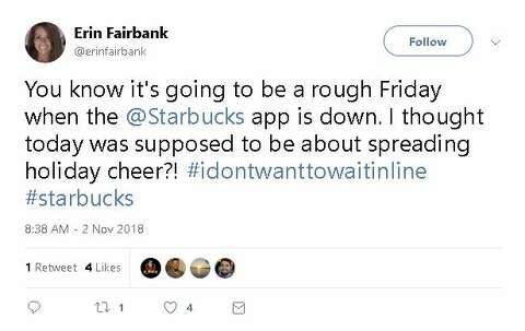 Coffee catastrophe: Starbucks app has epic fail the day free