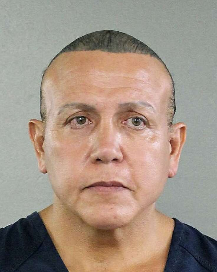 File- In this Aug. 30, 2015, file photo released by the Broward County Sheriff's office, Cesar Sayoc is seen in a booking photo, in Miami. Sayoc will not seek immediate release on bail and agreed Friday, Nov. 2, 2018, to be transferred from Miami to New York to face charges of sending explosive devices to prominent Democrats, critics of President Donald Trump and media outlets. (Broward County Sheriff's Office via AP, File) Photo: Associated Press