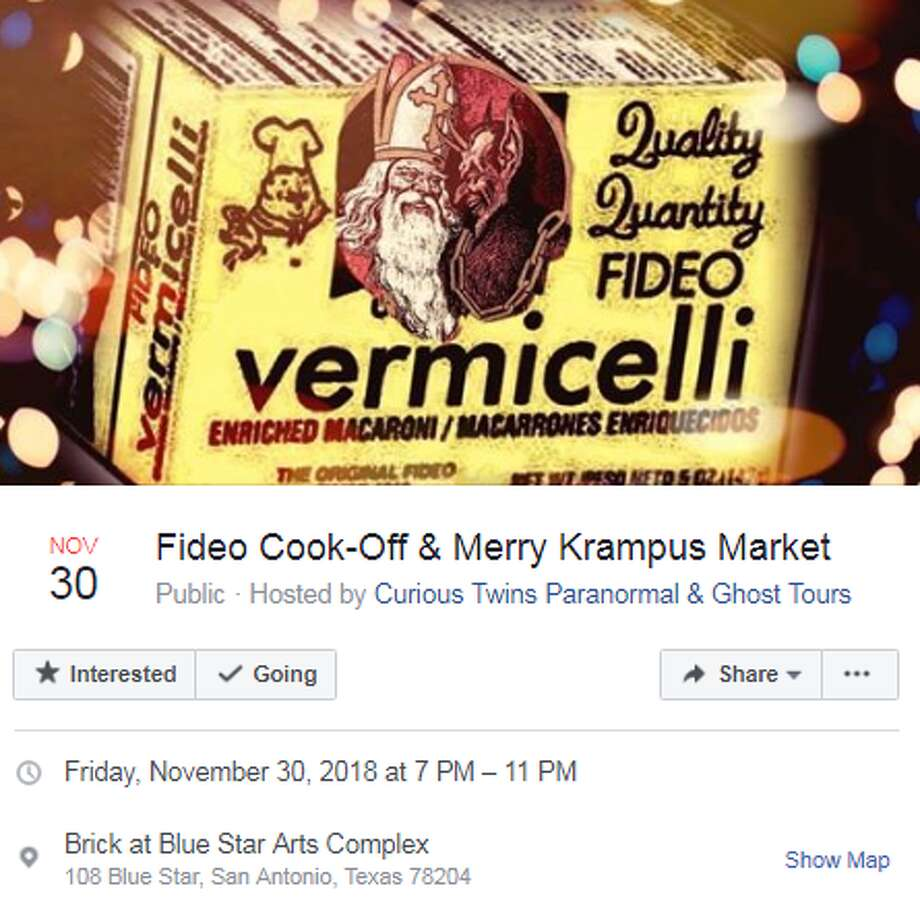 Nov. 30: Fideo Cook-Off & Merry Krampus Market