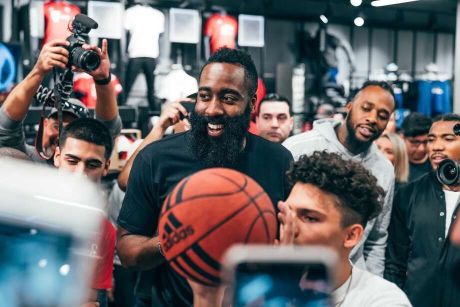PHOTOS: A look at adidas' day in the life of James Harden to celebrate release of Harden Vol. 3 James Harden released his new signature shoe with adidas Basketball - the Harden Vol. 3 - by giving sneakerheads a peak into his daily life in Houston, including dinner at Vic & Anthony's Steakhouse. Take a look at the photos above for a look at the special events adidas put together in Houston to celebrate the release of Harden Vol. 3 ... Photo: Adidas Basketball