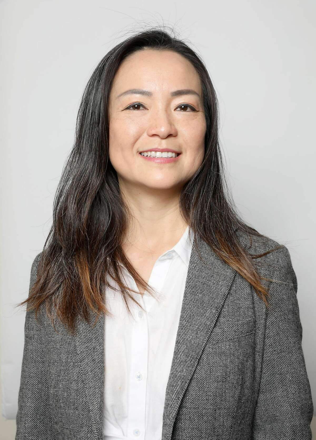 Candidate Eva I. Chao running for the BART Board will be running for the BART Board comes in for an editorial board meeting on Tuesday, Oct. 2, 2018, in San Francisco, Calif.