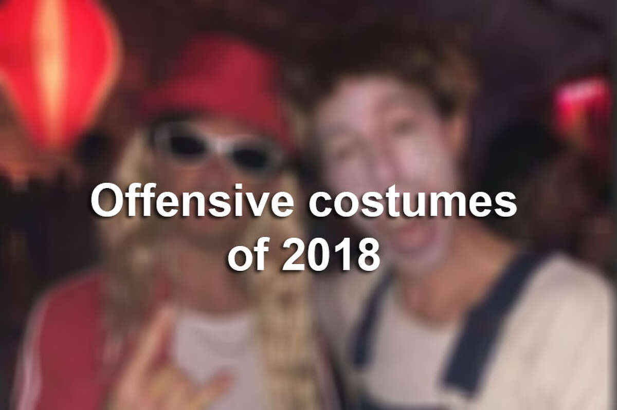 Keep clicking for more costumes that offended or caused a stir in 2018.