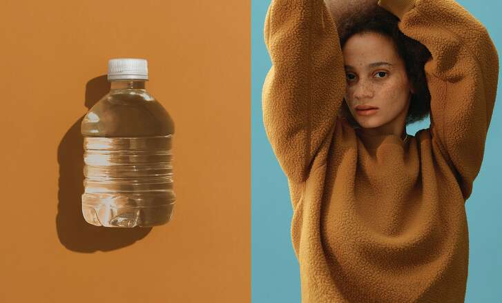 Everlane's 13-piece ReNew outerwear collection of men's and women's fleece sweatshirts, puffers and parkas is made of 3 million discarded plastic bottles. The line went on sale Oct. 24, priced from $55 to $198.