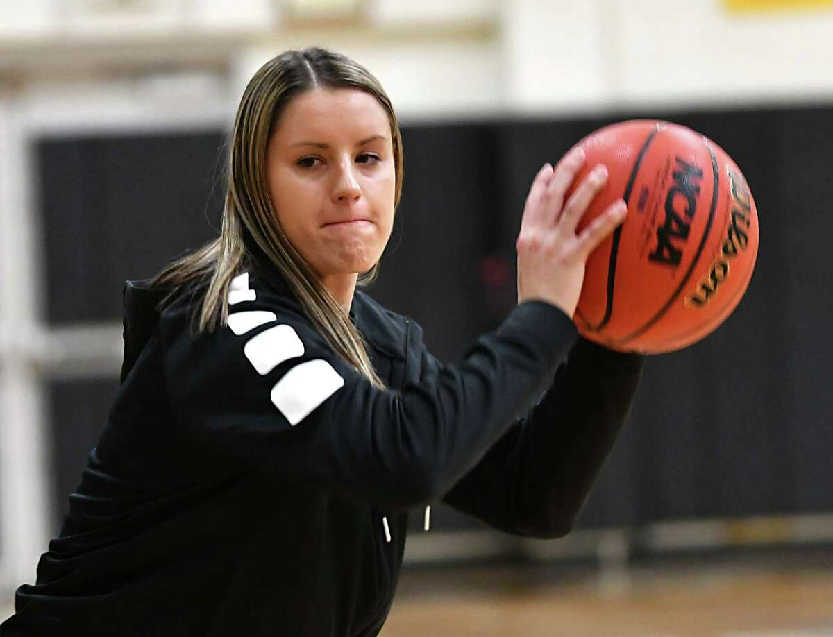 Leah Dollard, an Albany High graduate, played women's basketball for The College of Saint Rose in recent years.(Lori Van Buren/Times Union)