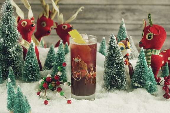 Run Rudolph Run is one of the cocktails that will be served at the Miracle on Houston Street pop-up bar this holiday season.
