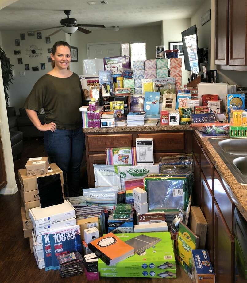 Kristen Bell's Instagram page listed deaf education teacher Ashley Greene-Woods as one of #10FeaturedTeachers, a crowdsourced initiative designed to provide educators with supplies that they need for their students' success. Photo: Courtesy Humble ISD