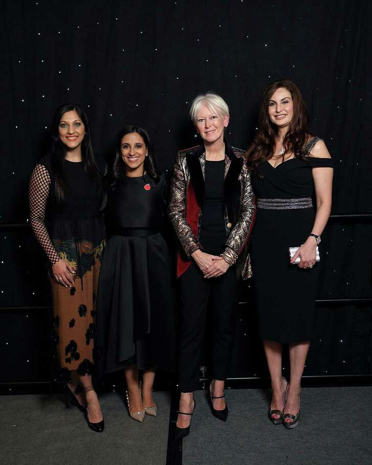 Sippi Khurana, Rania Mankarious, Joanna Coles and Brigitte Kalai