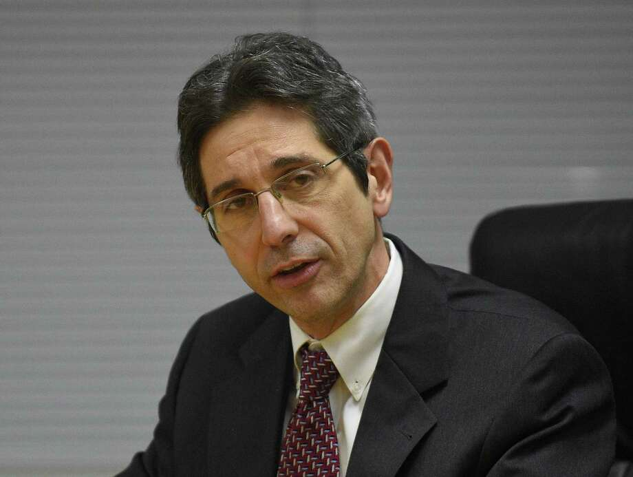 Board of Education member Frank Cerasoli said public schools received only about 31 percent of recommended funding for capital projects since 2009. Photo: Matthew Brown / Hearst Connecticut Media / Stamford Advocate