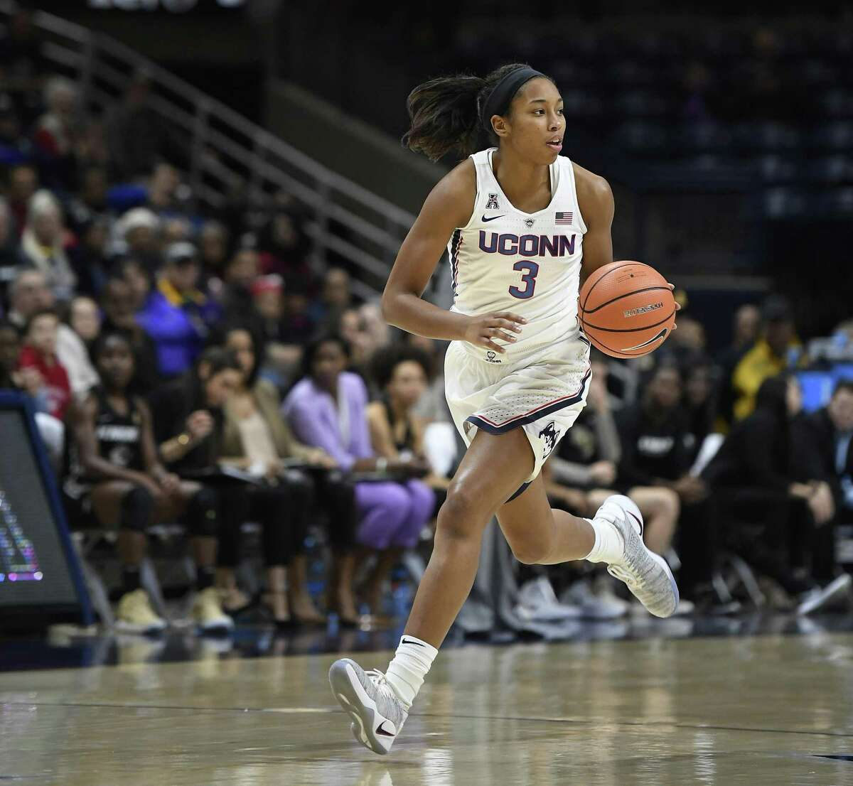 UConn sophomore Megan Walker. (AP Photo/Jessica Hill)