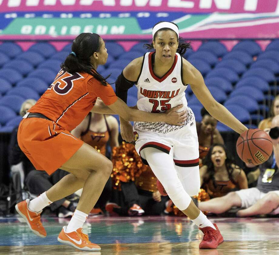 Louisville All-American Asia Durr, who UConn will face on Jan. 31.(AP Photo/Ben McKeown, File) Photo: Ben McKeown / Associated Press / FR171414 AP