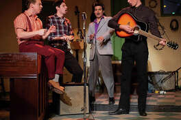 """A scene from """"Million Dollar Quartet,"""" a Playhouse Stage Company production at Cohoes Music Hall."""
