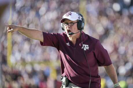 Jimbo Fisher, who was 27-5 in November at Florida State, tries to mirror that success at Texas A&M.