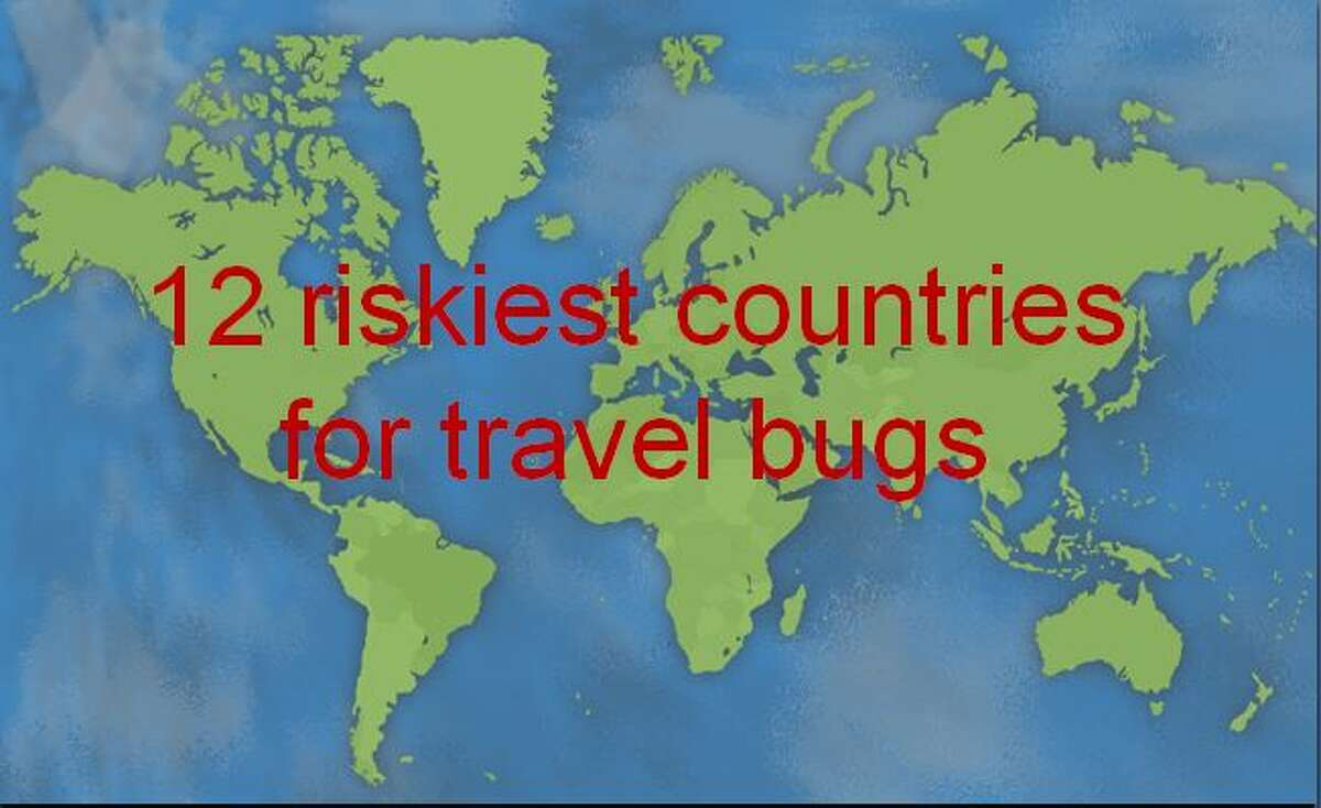 12 riskiest countries for travel bugs