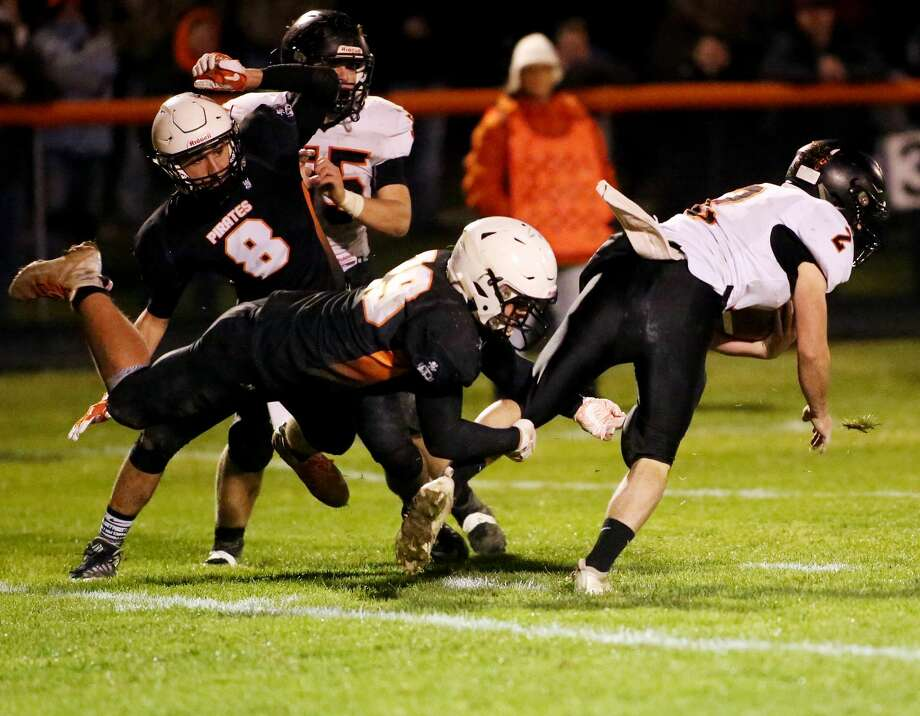 Harbor Beach 28, Ubly 26 (3OT) Photo: Paul P. Adams/Huron Daily Tribune
