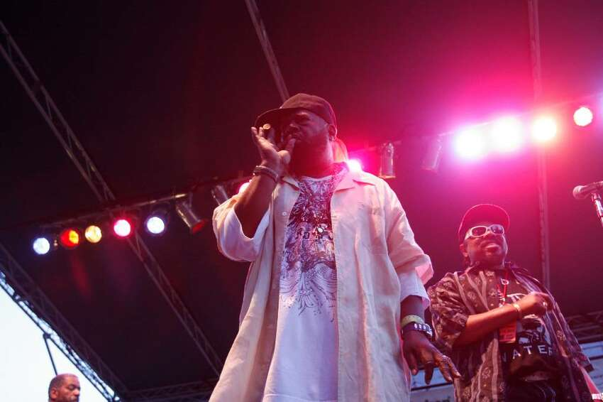 George Clinton and Parliament Funkadelic perform at Alive @ Five in Stamford, Conn. on Thursday, July 15, 2010.