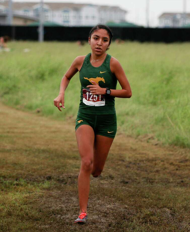 Nixon senior Alexa Rodriguez finishes her high school career Saturday at the 2018 state cross country meet. Rodriguez is the first Laredoan to win back-to-back regional titles in different divisions in cross country. Photo: Courtesy Photo, File