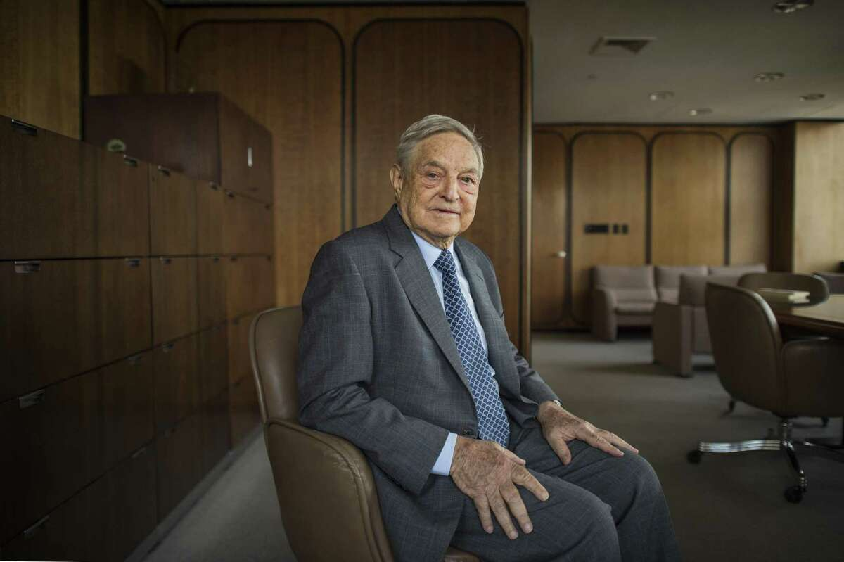 **EMBARGO: No electronic distribution, Web posting or street sales before Thursday March 10, 2016 at 2:45 a.m. EST. No exceptions for any reasons. EMBARGO set by source.** FILE ?- George Soros, the billionaire financier and philanthropist, in New York, May 27, 2014. Soros will be a key backer of Immigrant Voters Win PAC, a new vehicle focused exclusively on turning out support from Latinos and other immigrant communities in the 2016 elections. (Joshua Bright/The New York Times)