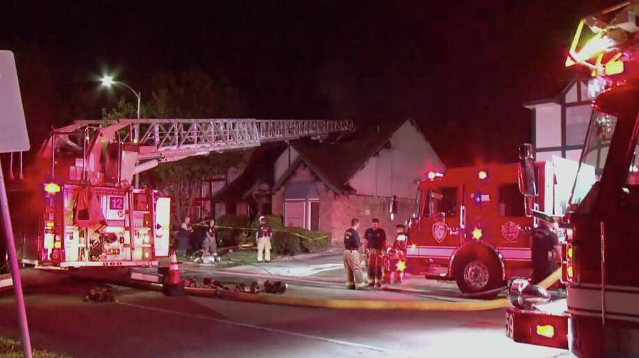 man dies in the southwest houston fire son transported to hospital