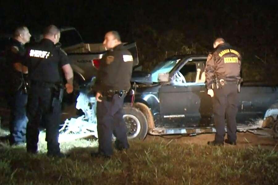 c83c01b2f7 Man dies in NE Harris County pickup truck crash - HoustonChronicle.com