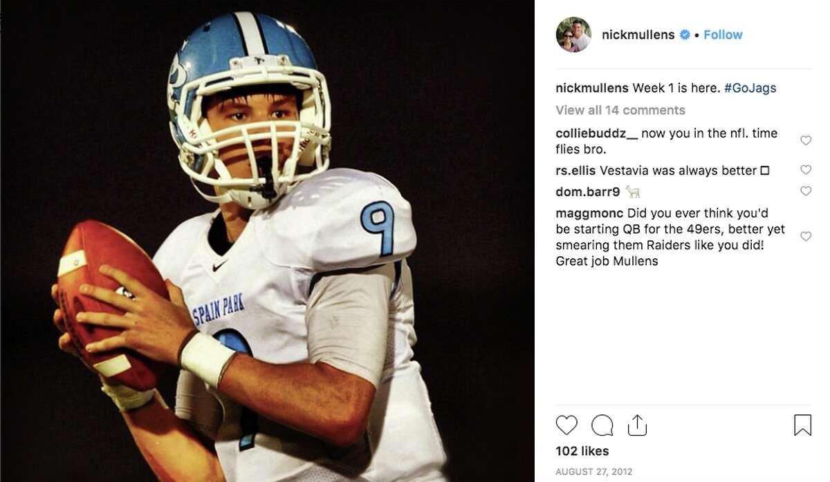 He was named the 2012 Gatorade Player of the Year in the state of Alabama during his senior year of high school The quarterback won the prestigious award after throwing for 3,649 yards and 40 touchdowns during his senior season at Spain Park High School in Hoover, Alabama.
