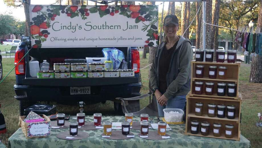 Cindy Larsen, who owns Cindy's Southern Jam, reveals that her love of foraging eventually drives her to make jams and it was the beautyberry flavor that garnered her a following. Photo: Nguyen Le / Staff Photo