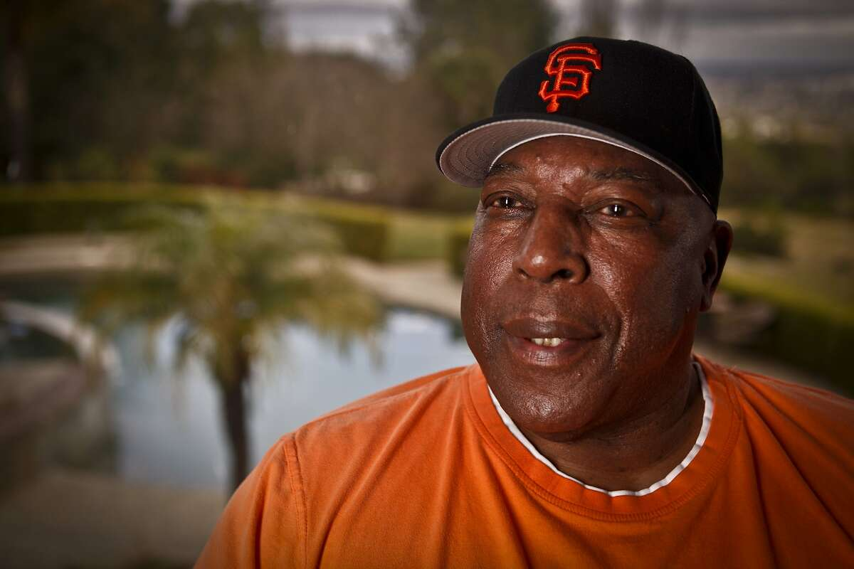Baseball Hall of Fame Giant Willie McCovey is seen in his Woodside, Calif., home on Wednesday, Feb. 1, 2012.