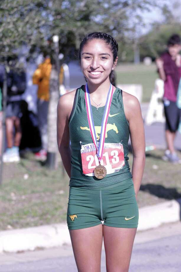Nixon senior Alexa Rodriguez is the first Laredo athlete to be named All-State in the 5A and 6A divisions. Photo: Clara Sandoval /Laredo Morning Times File