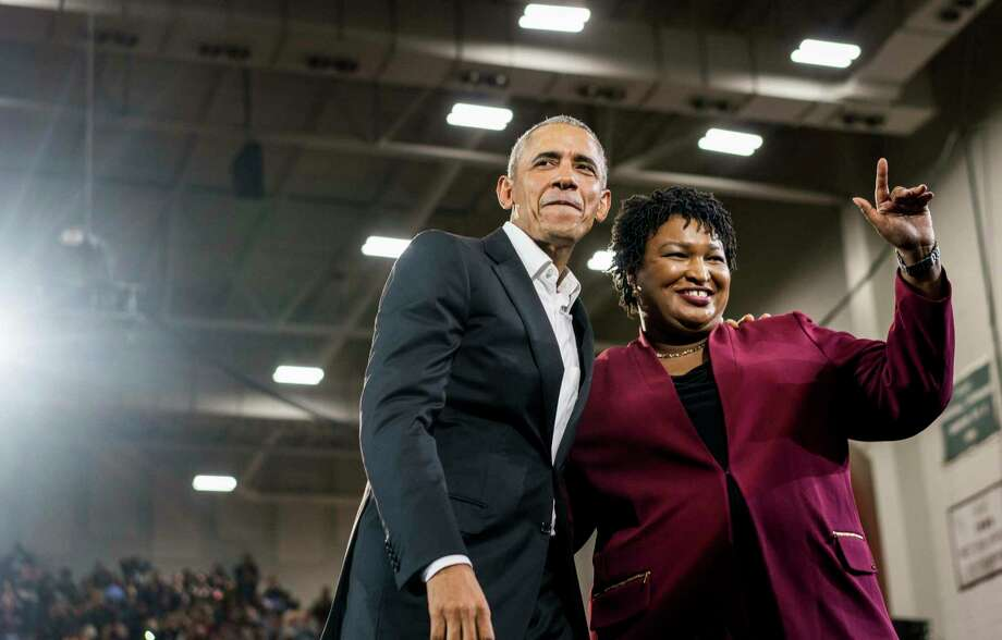 Former president Barack Obama has made his presence felt on the campaign trail, including a stop Friday in Georgia to lend Democratic gubernatorial candidate Stacey Abrams his support. Photo: Washington Post Photo By Melina Mara / The Washington Post