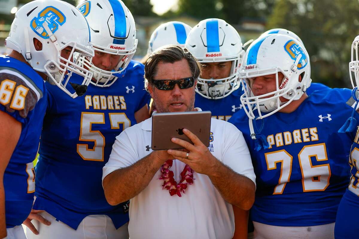 Serra coach Patrick Walsh is The Chronicle's co-coach of the year.