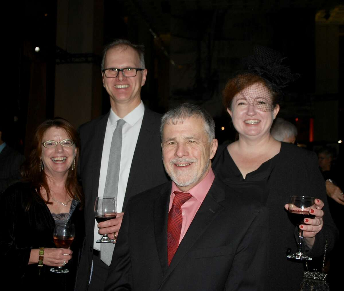 Caption: Were you Seen at 'Built: Albany's Architecture through Artists' Eyes,' a fundraiser for Historic Albany Foundation, at the New York State Museum in Albany on Nov. 3, 2018?