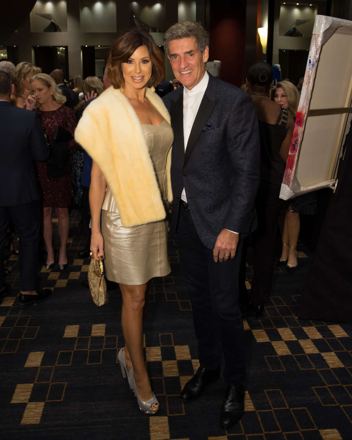 The 2018 Una Notte in Italia gala raised more than $400,000 for Houston Area Women's Center. Dominique Sachse, Nick Florescu. >>> Click through to see photos from the gala and runway fashion show.