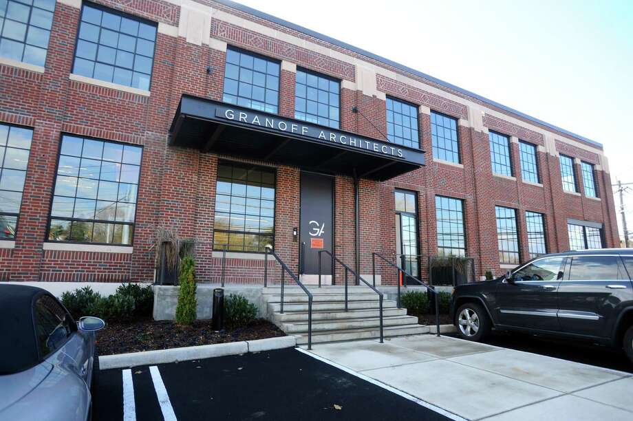 Granoff Architects transformed this old, historic building on Railroad Avenue into its new headquarters and other business space. Photo: File / Stamford Advocate