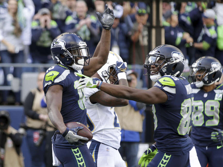 The Seahawks is 4-4 as it enters the second half of the season. They're currently on the outside of the playoff picture looking in.  Photo: AP Photo