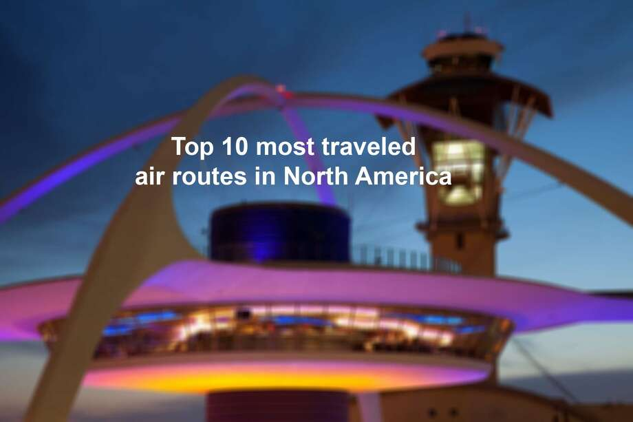 Top 10 Largest Air Routes in North America Photo: Chris McGinnis