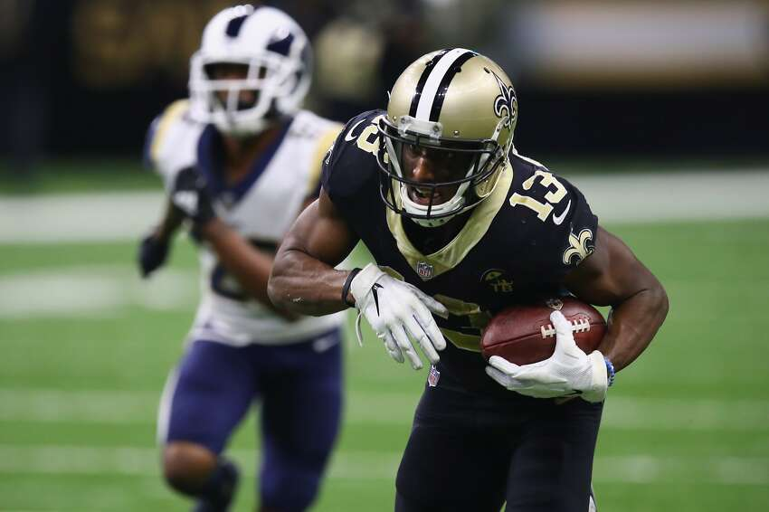 4. MICHAEL THOMAS, WIDE RECEIVER (NEW ORLEANS SAINTS) CONTRACT SITUATION: Entering last year of rookie deal.