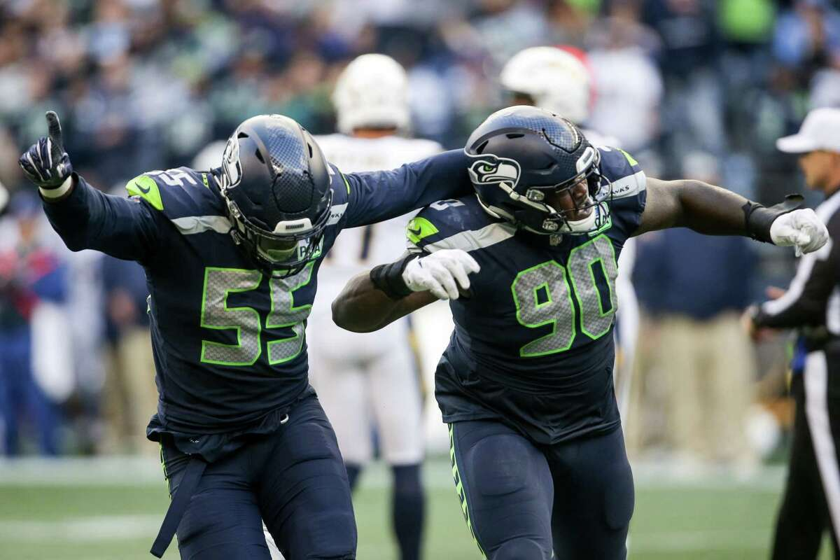What's your confidence in the pass rush beyond Frank Clark? What do you need to see from the rest of the defensive line? Carroll: