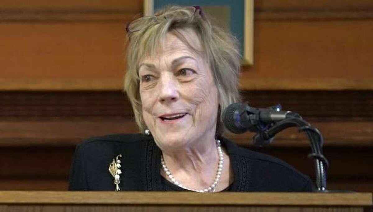 Hayner Library Executive Director Bernadette Duvernoy