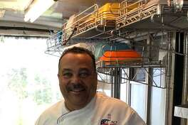 Spectrum/Joseph LaNoce recently opened LaNoce's Gourmet Market & Catering at 28 Merryall Road in New Milford (fall 2018). The market offers a variety of prepared foods made from scratch and catering services. LaNoce is shown above in his mobile kitchen.