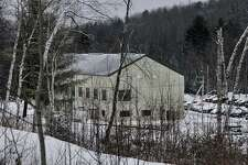 The Moriah Shock Incarceration Facility may be closed by the state, which could cause great harm to the local economy there. The correctional facility is shown in Mineville, NY on Thursday January 28, 2010. FOR RICK KARLIN STORY. (Philip Kamrass / Times Union)