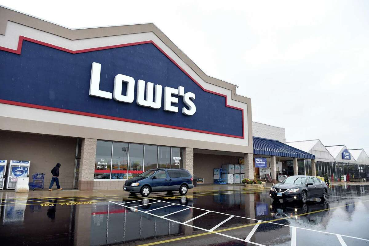 Click through the slideshow to see the 20 biggest retailers in the U.S. >> Lowe's home improvement store on the Boston Post Rd. in Orange photographed on November 5, 2018.