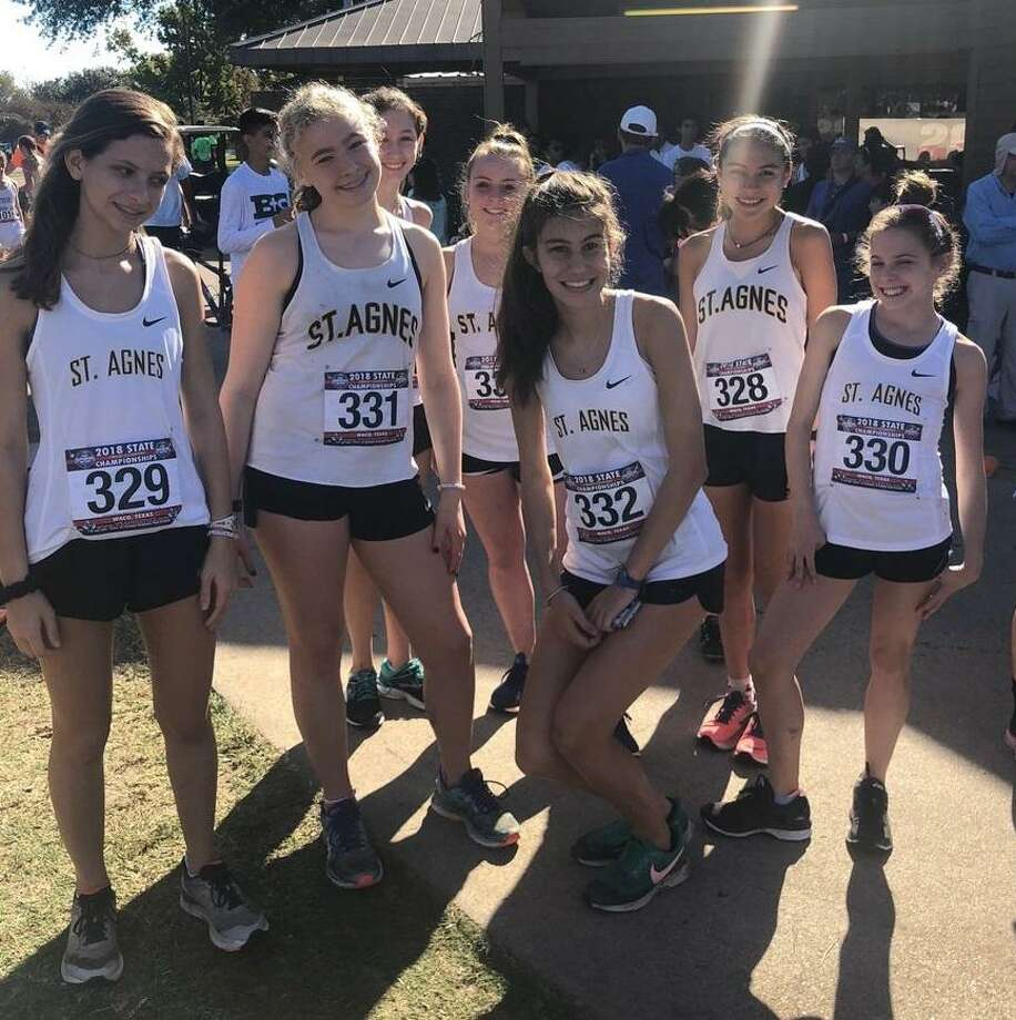 The St. Thomas cross country team finished as 6A runner-up at the TAPPS state meet. The team of Blazek Skucius, Travis Enochs, Nicholas Chandler, Joseph Romero, Isaiah Garza, Kenneth Vandoren amassed 96 points. Photo: Via Twitter / Via Twitter