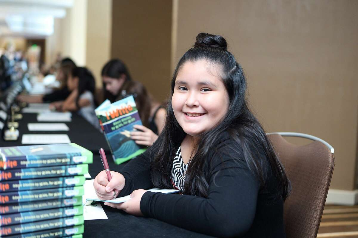 The 9th annual iWrite Luncheon and Book Signing honored 78 student authors and illustrators from the U.S. and abroad.