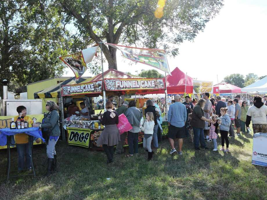 The West Fort Bend Management District and the city of Richmond have announced the 2018 Pecan Harvest Festival will be held in Historic Downtown Richmond on Sunday, Nov. 18. Shown here is a funnel cake stand. Photo: Courtesy Photo