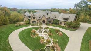 Iowa: $3.5 million    City: Elkhart    Size: 10,666 sq. ft.    Bedrooms/bathrooms: 5 beds/9 baths