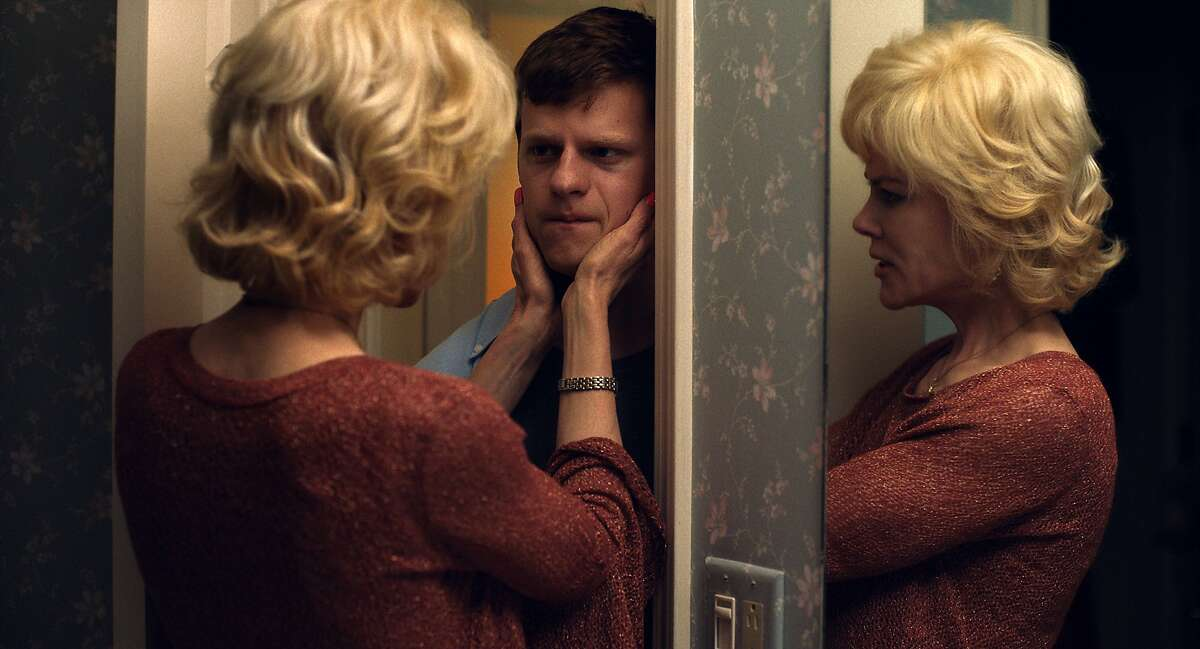 Nicole Kidman, left, and Lucas Hedges in a scene from