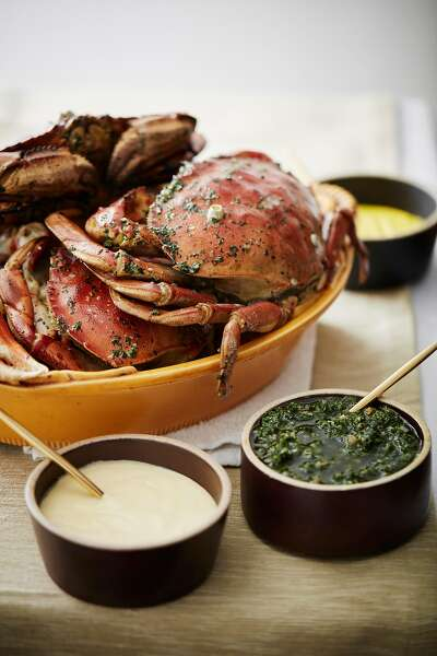 Recipes: Trio of dips to accompany Barbecued Dungeness Crab