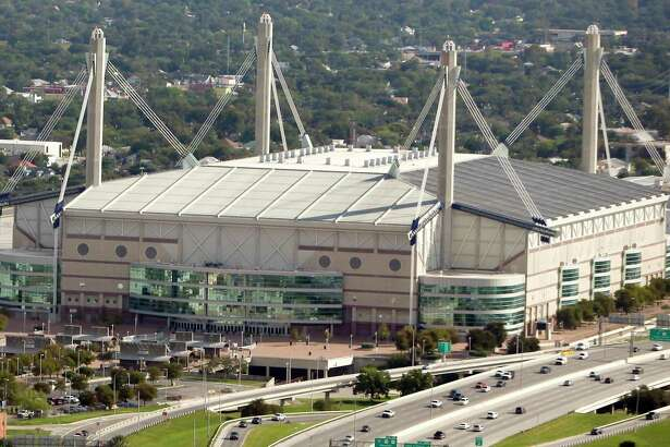 "The Alamodome stood in for The Astrodome in ""Selena."""