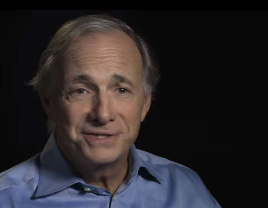 Bridgewater Associates First Five package: $52 million in 2016: Greenwich billionaire and Bridgewater founder Ray Dalio, in a YouTube video posted Oct. 29, 2018, to discuss a $185 million investment in his OceanX initiative. (Screenshot via YouTube) Photo: /